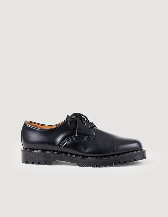 Derby shoe : Shoes color Black