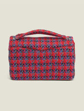 Yza tweed bag : Bags color Red