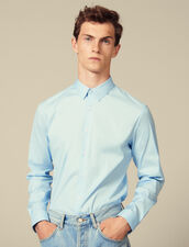 Slim-Fit Classic Shirt : Shirts color Sky Blue