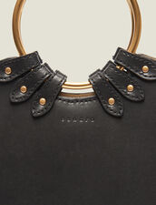 Ring Bag For Carrying Two Ways : Bags color Black