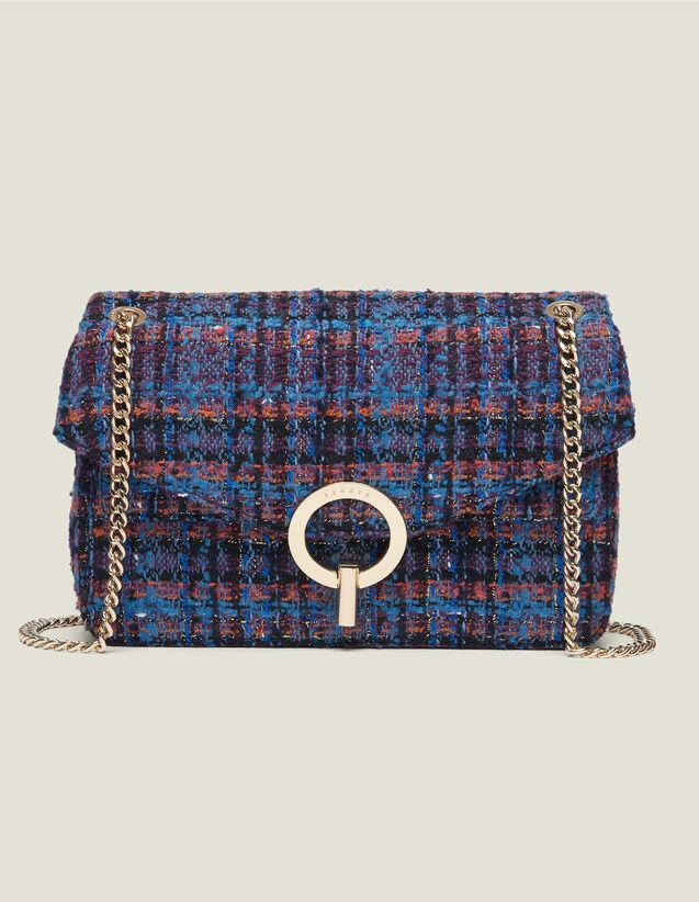 Yza tweed bag : Spring Pre-Collection color Multi-Color