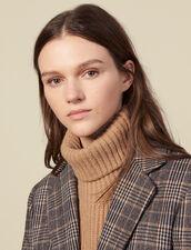 Wool Snood : Scarves color Camel