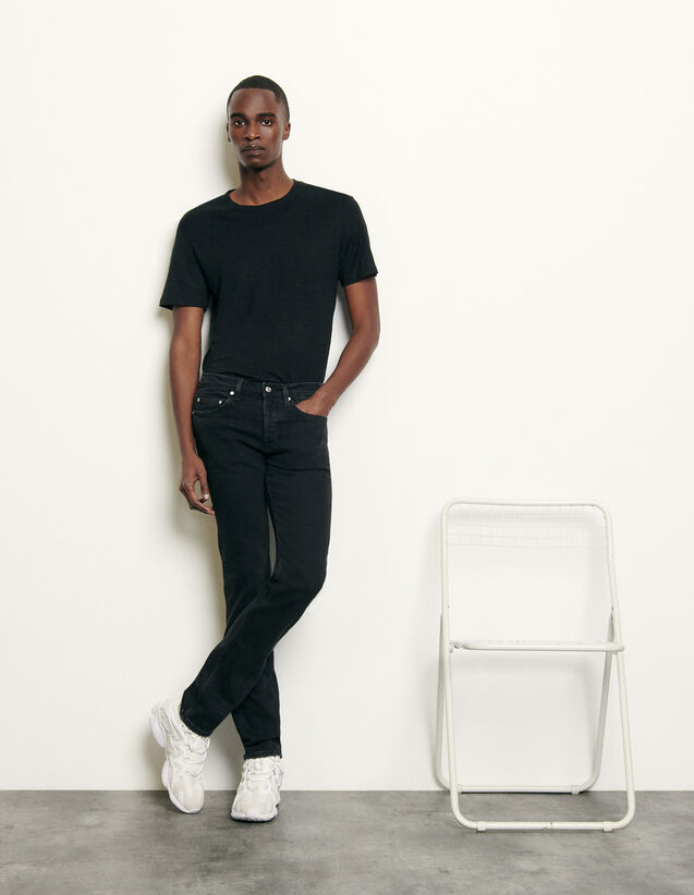 Black jeans - Skinny cut : Spring Pre-Collection color Black