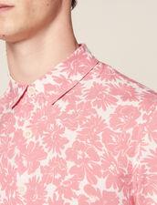 Flower Shirt : Shirts color Navy Blue