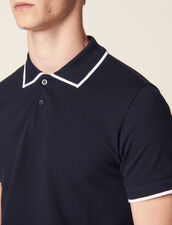 Liner Polo Shirt : T-shirts & Polos color Navy Blue
