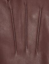 Leather gloves : Scarves & Gloves color Black