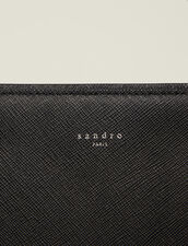 Saffiano Leather Briefcase : Bags color Black