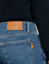 Washed jeans - Slim cut : Spring Pre-Collection color Blue Vintage - Denim