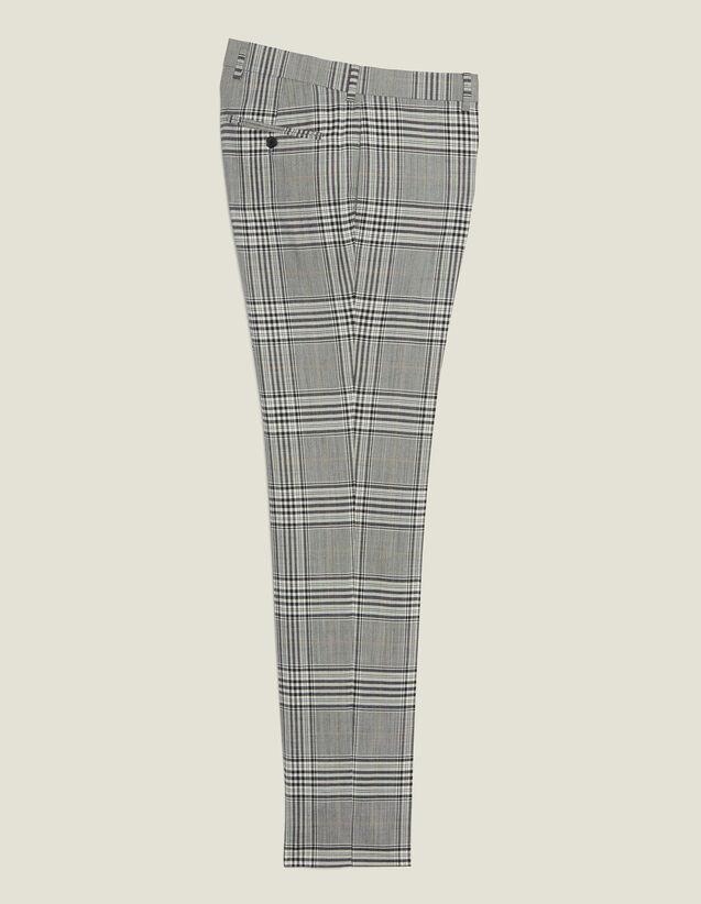 Classic Suit Pants : Suits & Blazers color Grey