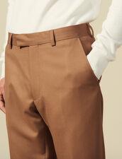 Wool suit pants : Suits & Blazers color Navy Blue
