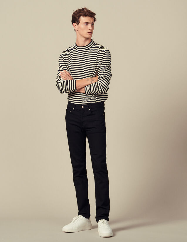 Slim-fit jeans : Spring Pre-Collection color Black