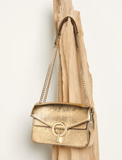 Full gold yza bag, small model : Spring Pre-Collection color Full Gold