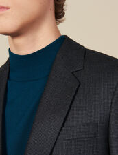 Wool suit jacket : Suits & Blazers color Charcoal Grey