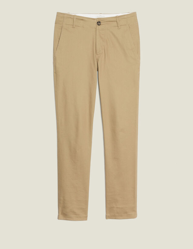 Straight-Leg Chino Pants : Pants & Jeans color Beige
