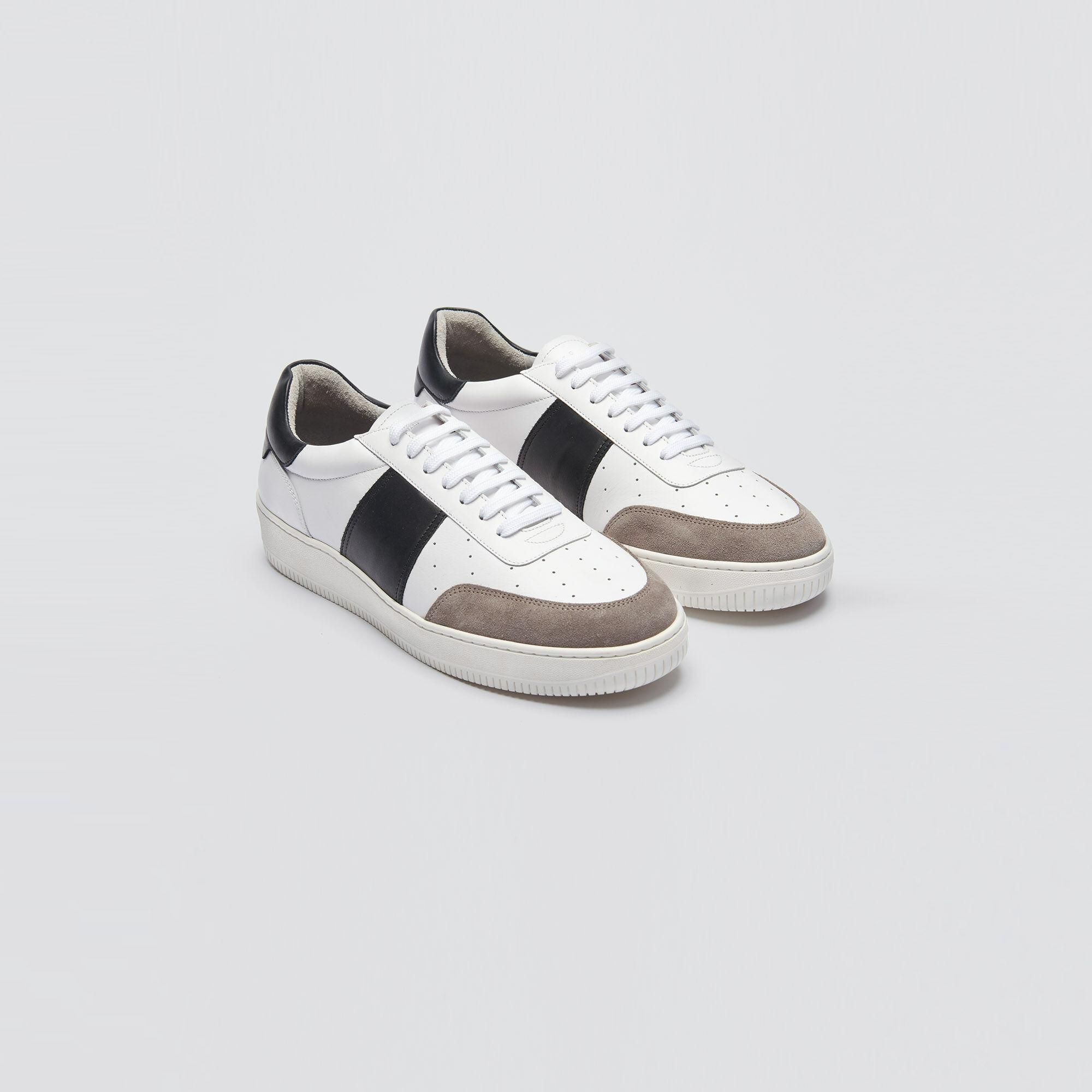Leather sneakers - Shoes   Sandro Paris