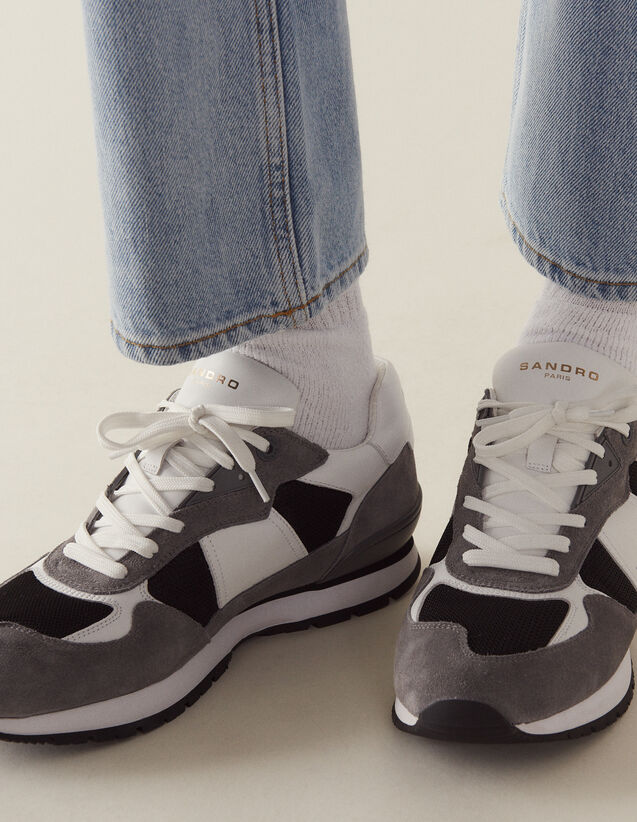 Running Sneakers : Shoes color Grey