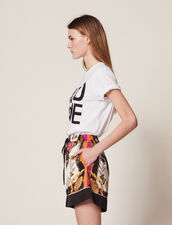 Printed Shorts : Pants & Shorts color Multi-Color