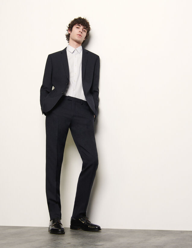 Suit pants : Spring Pre-Collection color Navy Blue
