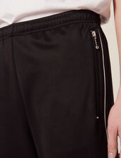 Track Pant Style Jogging Bottoms : Pants & Shorts color Black