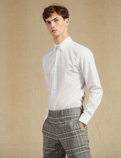 Formal Oxford Shirt : Shirts color white