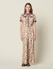 Printed Jumpsuit : Jumpsuits color Multi-Color