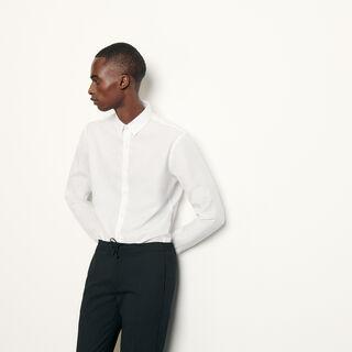 Iron, white, hi-res, | sandro-paris.com