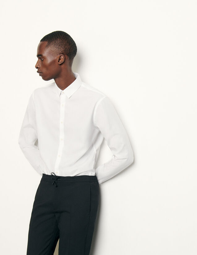 Non-iron shirt : Spring Pre-Collection color Black