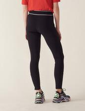 Leggings-Style Pants : Pants & Shorts color Black