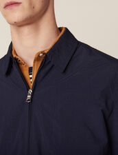 Coach Jacket In Technical Fabric : Jackets color Navy Blue