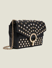 Yza bag with studs, small model : Bags color Black