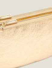 Addict pouch : Bags color Full Gold