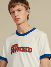 Slogan T-Shirt : T-shirts & Polos color white
