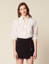 Layered-Effect Shorts : Pants & Shorts color Black