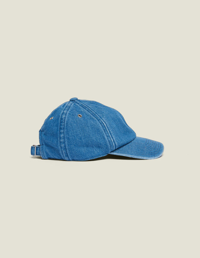 Faded Denim Cap : Hats color Blue