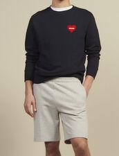 Jersey Shorts : Pants & Jeans color Mocked Grey