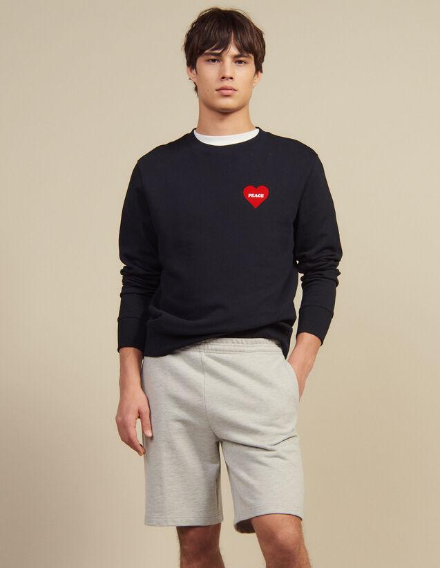 Jersey Shorts : Pants & Shorts color Mocked Grey