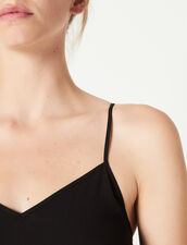 Top With Fine Straps : Tops & Shirts color Black
