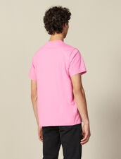 Cotton T-Shirt : T-shirts & Polos color Pink