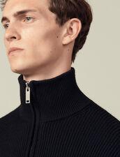 Turtleneck Sweater : Sweaters & Cardigans color Black