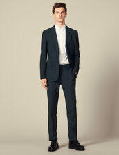 Suit pants : Suits & Blazers color Dark green