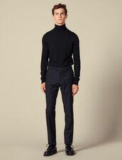 Classic suit pants : Suits & Blazers color Navy Blue
