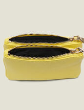 Mini Addict Pouch With Wrist Strap : Other Accessories color Colza