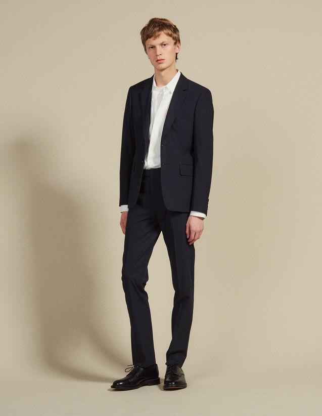 Cotton Suit Pants : Suits & Blazers color Ink
