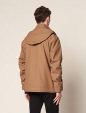 Cotton Deckjacket : Coats color Navy Blue