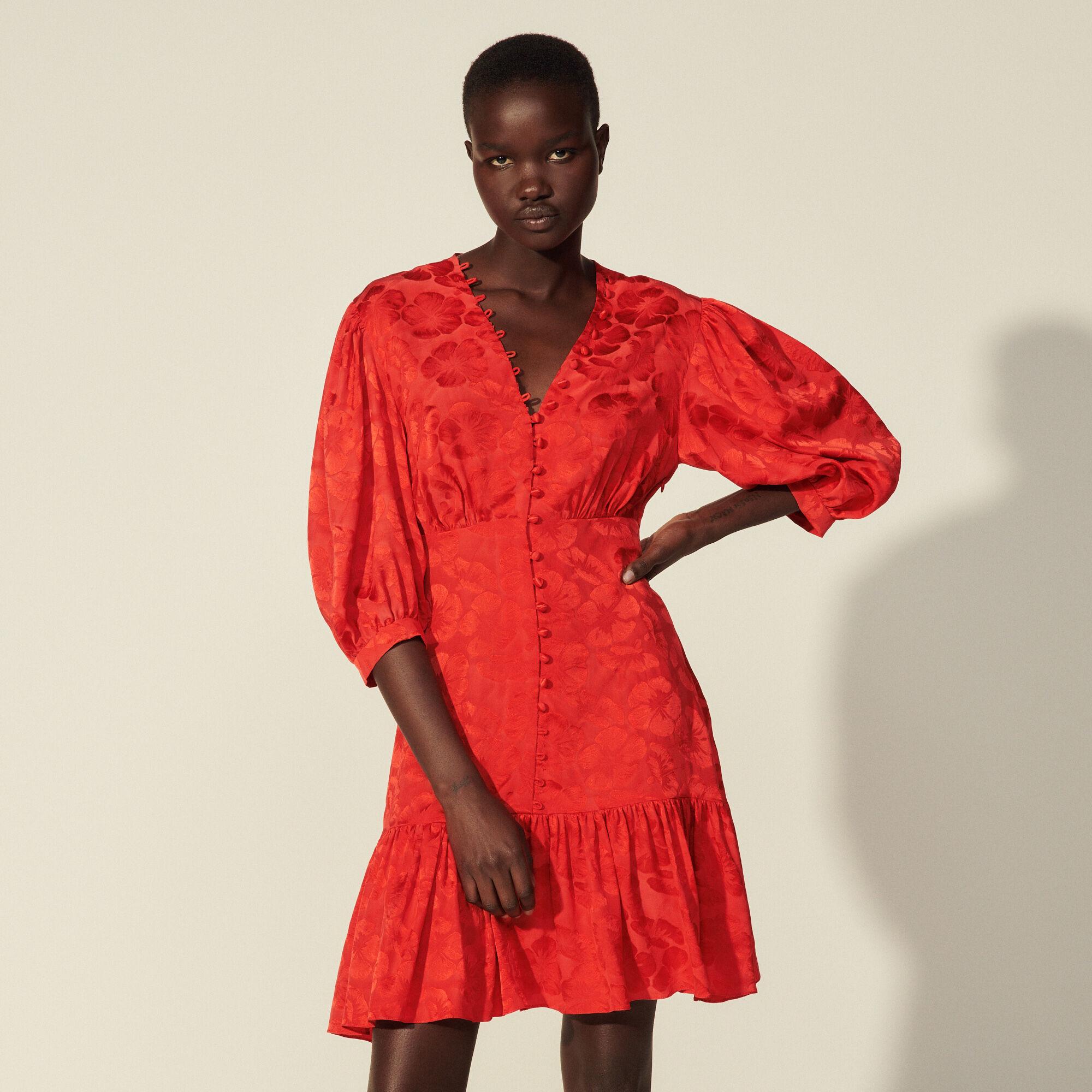 Sandro Short flowing dress