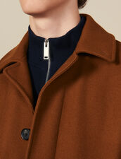 Oversized town coat : Coats color Camel