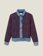 Tweed jacket : Jackets color Bordeaux