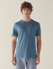 Linen T-Shirt : T-shirts & Polos color Ink