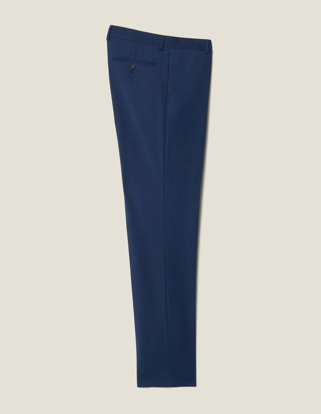 Classic Super 110 Suit Trousers : Suits & Blazers color Petrol