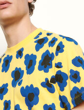 Printed T-shirt : Spring Pre-Collection color Yellow